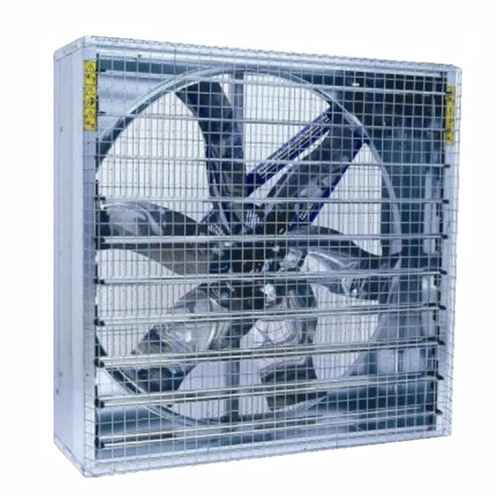 Box Fan with louvers