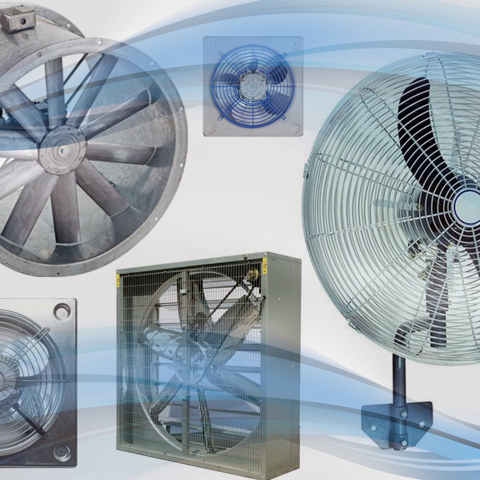 Luft Fans - Industrial Range